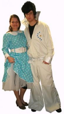 Elvis en dame