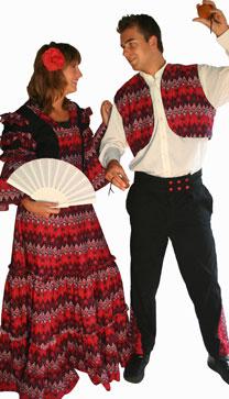 Spaanse man en vrouw