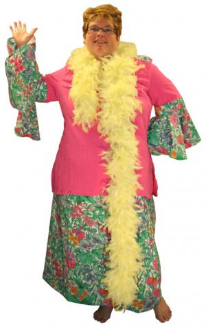Tropische jurk