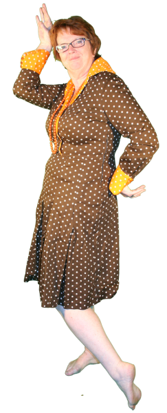 Jaren 70 jurk