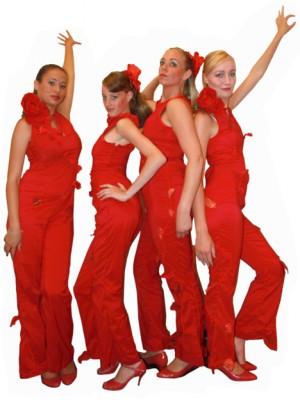 Klaprozen danseressen