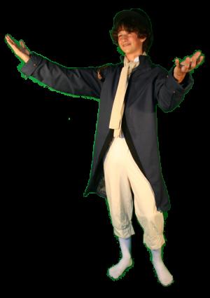 Napoleon Tijdsbeeld 1800 kostuum huren