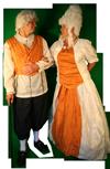 Middeleeuws Rijke man kostuum