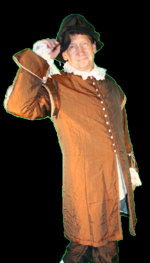 Middeleeuws Rijk Volk Kostuum