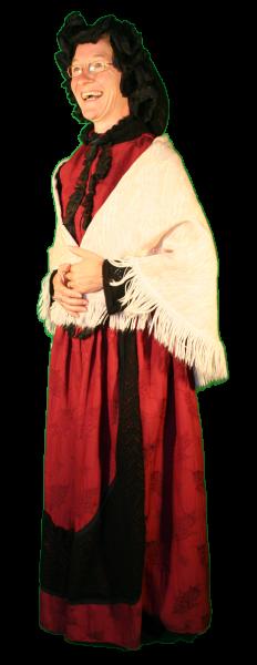 Charles Dickens vrouw kleding kostuum huren