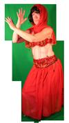 Landen Exotisch Kostuum Buikdanseresuikdanseres