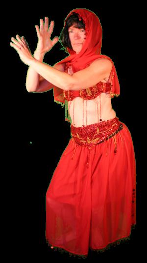 Landen Exotisch Kostuum Buikdanseres