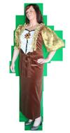 Middeleeuws Sjieke dame kostuum huren AttiQ Zaltbommel