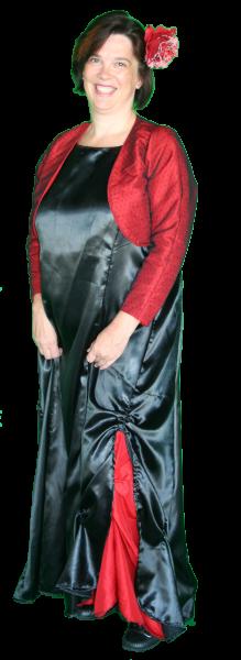 Landen Gala Spaanse Jurk Bolero Kostuum huren