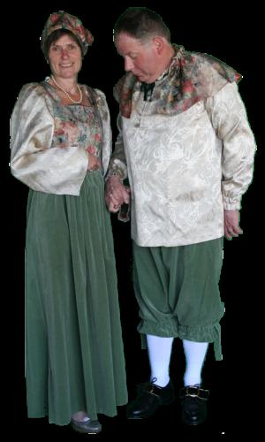 Middeleeuws Paar Kostuum Huren AttiQ Kledingverhuur