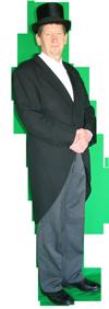 Charles Dickens Man Rijk Maat 54 AttiQ Kledingverhuur
