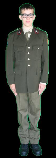 Uniform Soldaat Landmacht Kostuum Huren Kledingverhuur