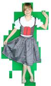 Landen Oostenrijkse Dirndl Maat 34