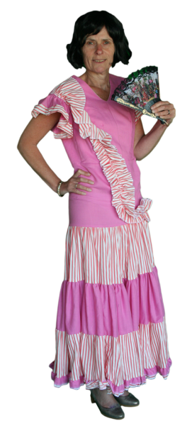 Landen Spaanse Jurk Kostuum Huren AttiQ Kledingverhuur