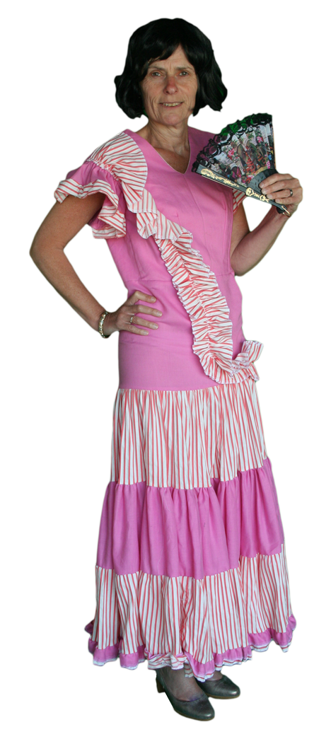 a0335aa1db4ffa Landen Spaanse Jurk Kostuum Huren AttiQ Kledingverhuur