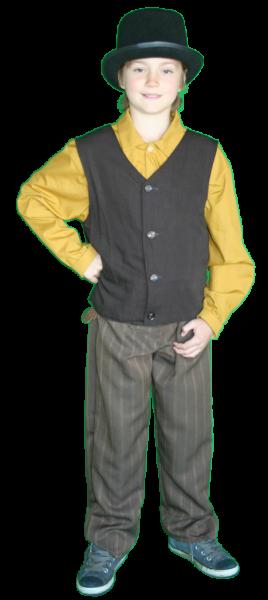 Kind Charles Dickens kostuum huren doe je bij AttiQ Kledingverhuur