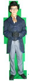 Charles Dickens Man kostuum 526