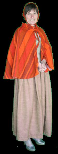 Charles Dickens vrouw kostuum 1224