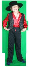 Landen kind spaans jongen kostuum huren 1344