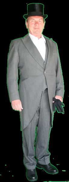Charles Dickens heer kostuum 1240