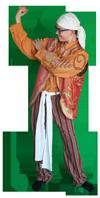 Landen Zigeuner Kleding Huren 1348