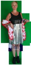 Jurken disco kleding huren AttiQ Kledingverhuur Zaltbommel 1185