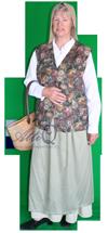 Middeleeuws kostuum 370 huur je bij AttiQ Kledingverhuur