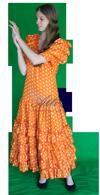 Landen spaanse vrouw kostuum huren 1302