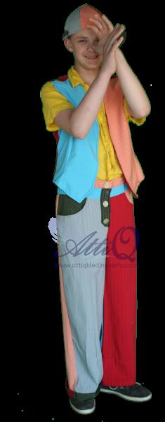 Diversen jochie kostuum huur je bij AttiQ 446