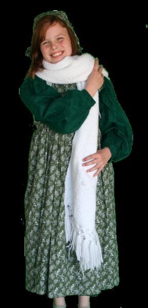 Kind Charles Dickens meisje kostuum huren 567