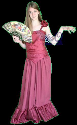Landen Spaanse jurk huren 1304