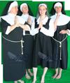 Religie Nonnen kostuum AttiQ Kledingverhuur 579