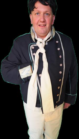 Charles Dickens en Napoleon tijdsbeeld kostuum 815
