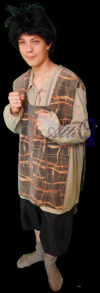 Middeleeuws kostuum man huren AttiQ 1253