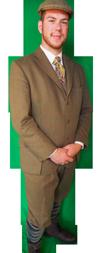 Charles Dickens heer kostuum huren 1241