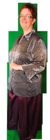 Gala broek rok huren kostuum 134