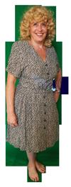 Jaren 60 jurk met petticoat huren 1580