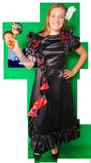 Landen Spaanse vrouw kostuum huren 1307