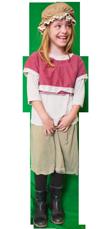 Middeleeuws kind kostuum huren 1129