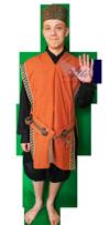 Sprookjes Sultan kostuum huren 1042