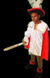 Middeleeuws Musketier Kostuum 1259