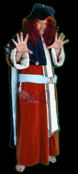 Sprookjes Tovenaar kostuum huren 1605