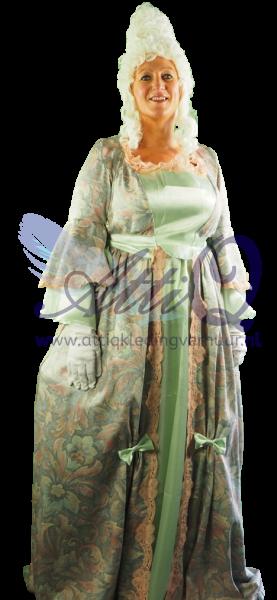 Barok jurk huren 1614