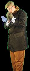 Charles Dickens Man Grote Maat Kostuum Huren 503