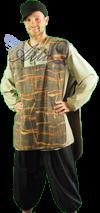 Middeleeuws gegoede burgerij kostuum huren 1253