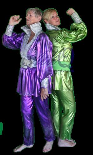 Jaren '80 '90 Abba kostuum verhuur 752