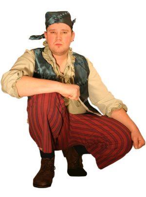 Piraten kostuum huren 334