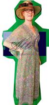 Jaren 60 jurk 1400 kostuum