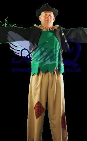 Sprookjes Vogelverschrikker kostuum huur 1790