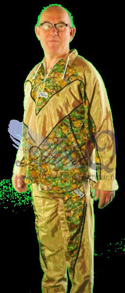 Jaren 70 Hippie of jaren 90 gabber kleding huren 1789
